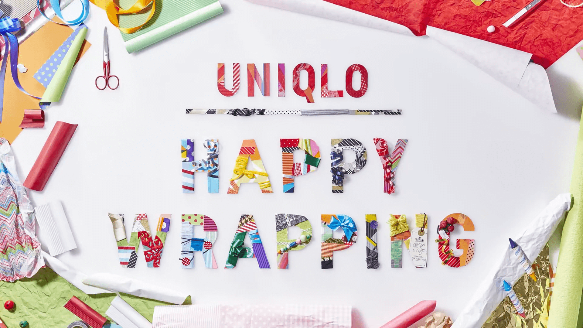 Uniqlo happy